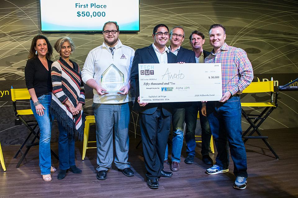 TechOut 2016 winners